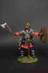 Викинг после боя - Оловянный солдатик коллекционная роспись 54 мм. Все оловянные солдатики расписываются художником вручную