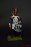 Фузилер барабанщик 42-й полк 1807 - Оловянный солдатик коллекционная роспись 54 мм. Все оловянные солдатики расписываются художником вручную