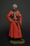 Старший урядник Собственного Его Величества Конвовя 1895 75 мм - Оловянный солдатик коллекционная роспись 75 мм. Все оловянные солдатики расписываются художником вручную