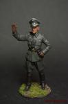 Обер-лейтенант фельджандармерии Вермахта (Германия) 1940-45 - Оловянный солдатик коллекционная роспись 54 мм. Все оловянные солдатики расписываются художником вручную