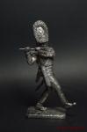 Флейтист лейб гвардии 1802-1805 год - Не крашенный оловянный солдатик. Высота 54 мм