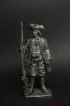 Матрос штурмовой команды 1706 год - Не крашенный оловянный солдатик. Высота 54 мм