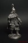 Монгольский воин - Не крашенный оловянный солдатик. Высота 54 мм