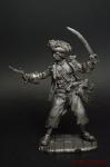 Бонни, Энн, 1700 - 1782 - Не крашенный оловянный солдатик. Высота 54 мм