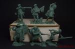 Набор солдатиков Трапперы 6 шт. (пластик)