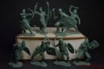 Набор солдатиков Скифы 8 шт. (пластик) - Набор из 8 фигур. Пластик, высота фигур 54 мм.