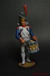 Барабанщик Гренадеров, 1809 - Оловянный солдатик коллекционная роспись 54 мм. Все оловянные солдатики расписываются художником вручную