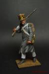Фрацузская пехота. Вольтажер в пальто 1814