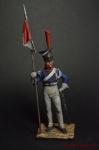 Польский улан Императорской Гвардии, 1813 г.