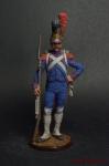 Рядовой роты гвардейских инженеров. Франция, 1811-15