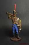 Штаб-трубач Сумского гусарского полка. Россия, 1810-14