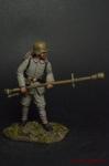 Немецкий огнеметчик, 1916