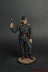 Унтер-офицер самоходной артиллерии Вермахта (Германия), 1941-42 - Оловянный солдатик коллекционная роспись 54 мм. Все оловянные солдатики расписываются мастером в ручную