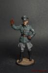 Обер-лейтенант фельджандармерии Вермахта (Германия) 1940-45 - Оловянный солдатик коллекционная роспись 54 мм. Все оловянные солдатики расписываются мастером в ручную