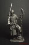 Выборный стрелец, 16 век - Оловянный солдатик. Чернение. Высота солдатика 54 мм