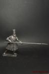 Рядовой ратник московского ополчения - Оловянный солдатик. Чернение. Высота солдатика 54 мм