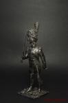 Обер-офицер Голландских гренадер Сред Имп гвардии Франция 1812 - Оловянный солдатик. Чернение. Высота солдатика 54 мм