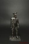 Капитан Корниловского ударного батальона Россия 1919 - Оловянный солдатик. Чернение. Высота солдатика 54 мм