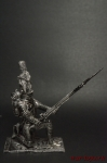Рядовой п. Пеших гренадер Стар Имп гвардии Франция 1812 - Оловянный солдатик. Чернение. Высота солдатика 54 мм