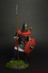 Англо-саксонский воин с копьем, VII в н.э