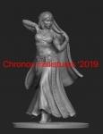 Индийская танцовщица - Фигурка, смола (набор для сборки из 6 деталей). Размер 54 мм (1:30)