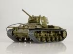 Наши Танки №33, КВ-1 (1942) - Масштабная коллекционная модель масштаб 1:43
