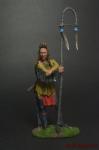 Индеец Абсароки (Ворон) - Оловянный солдатик коллекционная роспись 54 мм. Все оловянные солдатики расписываются художником вручную