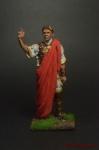 Юлий Цезарь, 52 г. до н.э. - Оловянный солдатик коллекционная роспись 54 мм. Все оловянные солдатики расписываются художником вручную