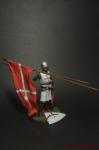 Крестоносцы. Госпитальер после боя 13 век - Оловянный солдатик коллекционная роспись 54 мм. Все оловянные солдатики расписываются художником вручную