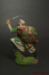 Мусульманский воин - Оловянный солдатик коллекционная роспись 54 мм. Все оловянные солдатики расписываются художником вручную
