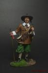 Испанский Мушкетер, 30-летняя Война, 1618 - Оловянный солдатик коллекционная роспись 54 мм. Все оловянные солдатики расписываются художником вручную