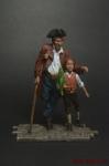 Остров Сокровищ - Оловянный солдатик коллекционная роспись 54 мм. Все оловянные солдатики расписываются художником вручную