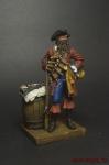 Пират Черная Борода - Оловянный солдатик коллекционная роспись 54 мм. Все оловянные солдатики расписываются художником вручную