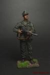 Милиционер Национальной гвардии. Италия, 1943-45 гг. - Оловянный солдатик коллекционная роспись 54 мм. Все оловянные солдатики расписываются художником вручную