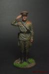 Гвардии капитан Красной Армии, 1943-45 гг. СССР - Оловянный солдатик коллекционная роспись 54 мм. Все оловянные солдатики расписываются художником вручную