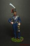 Командир Лейб-гвардии Казю плк граф Орлов-Денисов Россия 1813 Ре - Оловянный солдатик коллекционная роспись 54 мм. Все оловянные солдатики расписываются художником вручную