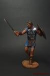 Максимус - Оловянный солдатик коллекционная роспись 54 мм. Все оловянные солдатики расписываются художником вручную