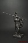 Самнитский воин - Оловянный солдатик. Чернение. Высота солдатика 54 мм