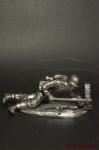 Немецкий солдат,2-ая мировая,лежит сфаустпатроном