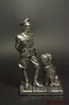 Офицер СС 1937-45 гг,с собакой