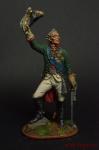 Генералиссимус А.В. Суворов - Оловянный солдатик коллекционная роспись 54 мм. Все оловянные солдатики расписываются художником вручную