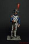 Тамбурмажор линейного полка Франция