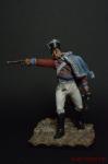 Прусский гусар 2-го гусарского полка, Рудорф, 1806 - Оловянный солдатик коллекционная роспись 54 мм. Все оловянные солдатики расписываются художником вручную