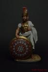 Темистокл, древнегреческий политик и генерал, 524-459 гг до н.э. - Оловянный солдатик коллекционная роспись 54 мм. Все оловянные солдатики расписываются художником вручную