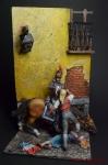 Испанская революция, Мадрид, 1808 г. - Оловянный солдатик коллекционная роспись 54 мм. Все оловянные солдатики расписываются художником вручную