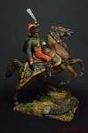 Офицер Императорской конной гвардии - Оловянный солдатик коллекционная роспись 54 мм. Все оловянные солдатики расписываются художником вручную
