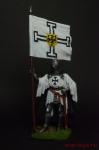 Тевтонский рыцарь со знаменем Ордена, 1400 год