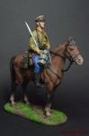 Красноармеец - кавалерист, 1939-1943 - Оловянный солдатик коллекционная роспись 54 мм. Все оловянные солдатики расписываются художником вручную