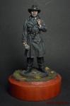 Исхак Ахмеров - резидент советской разведки в США в 1942-45 - Оловянный солдатик коллекционная роспись 54 мм. Все оловянные солдатики расписываются художником вручную