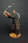 Ковбой с ружьем - Оловянный солдатик коллекционная роспись 54 мм. Все оловянные солдатики расписываются художником вручную